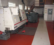 Workshop area at AR Machinery