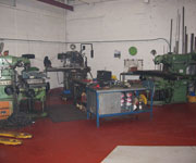 Manual Milling section at AR Machinery